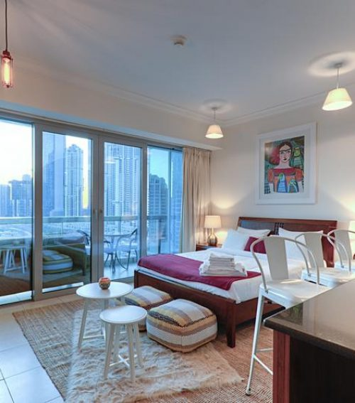 Studio 3 mins from Burj Khalifa